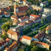 Stare miasto, Bartoszyce - fot. B.Chojęta