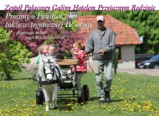 Zespół Pałacowy Galiny - HOTEL PRZYJAZNY RODZINIE